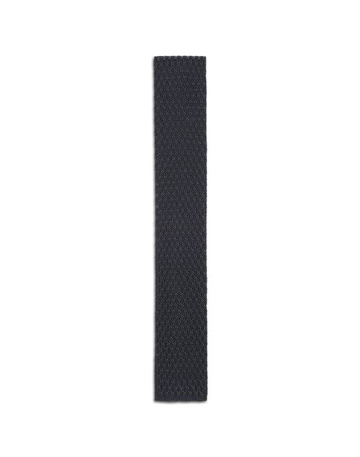 Anthracite Knitted Tie