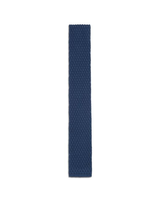 BRIONI Tie & Pocket Square U Bluette Knitted Tie f