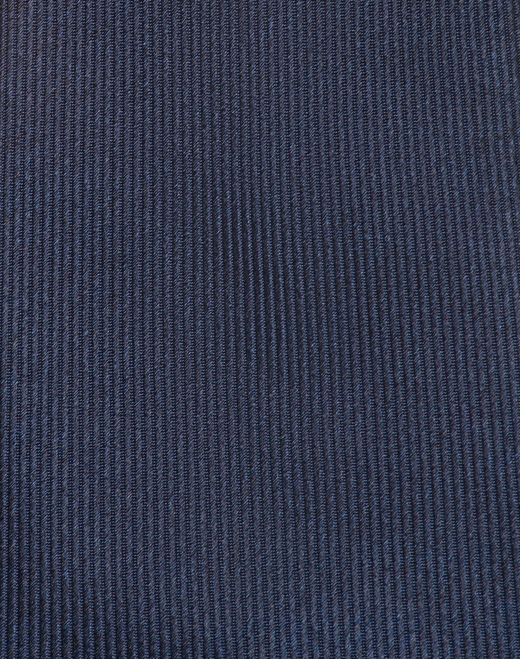 BRIONI Blue Navy Pinstriped Tie Tie & Pocket Square Man d