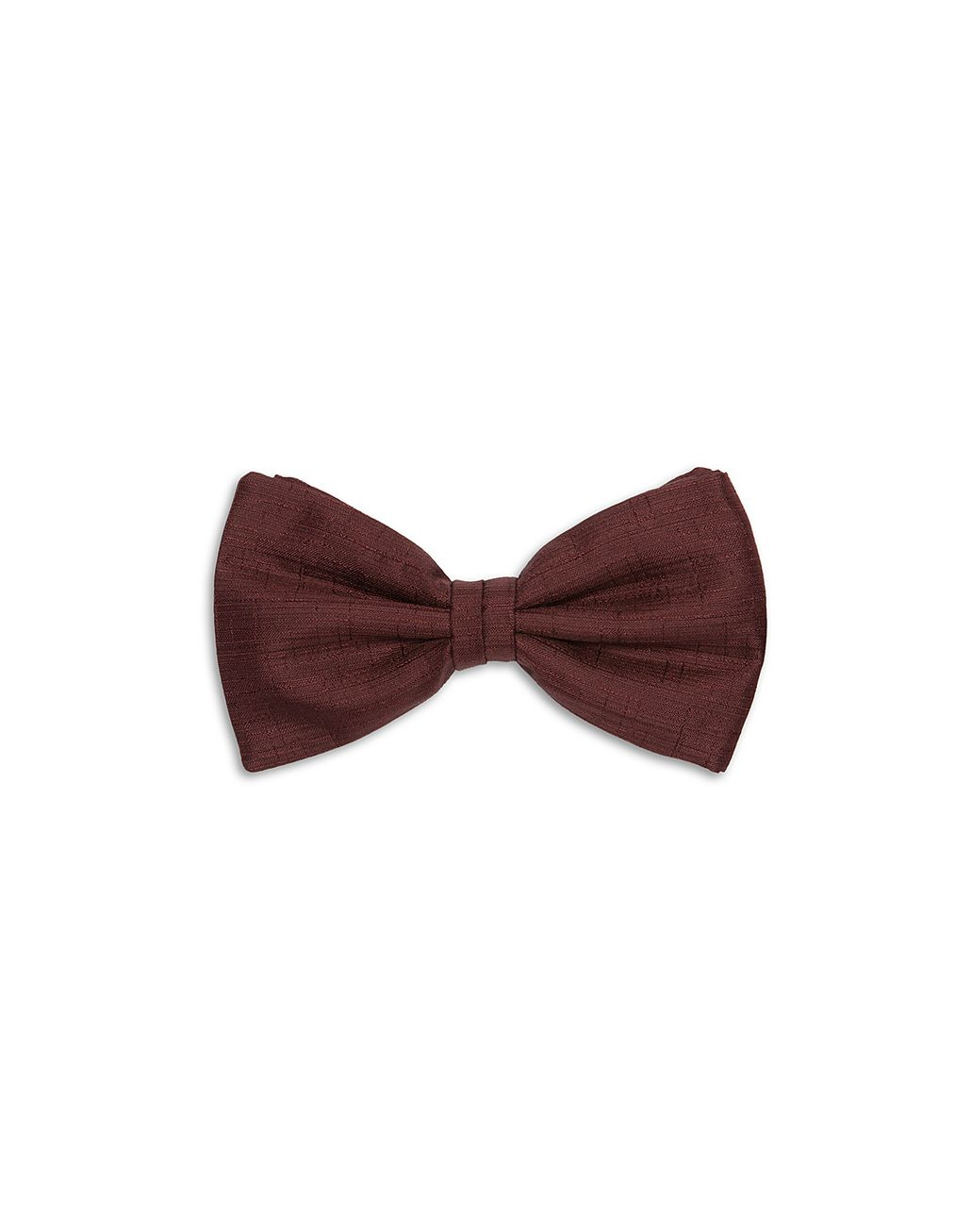 BRIONI Burgundy Bow Tie Bow Ties & Cummerbunds [*** pickupInStoreShippingNotGuaranteed_info ***] f