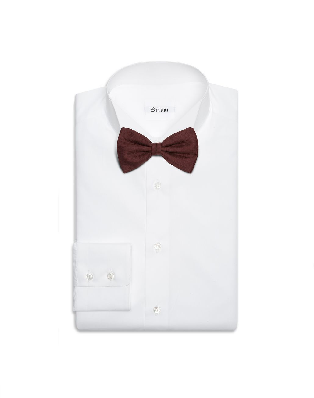 BRIONI Burgundy Bow Tie Bow Ties & Cummerbunds Man r