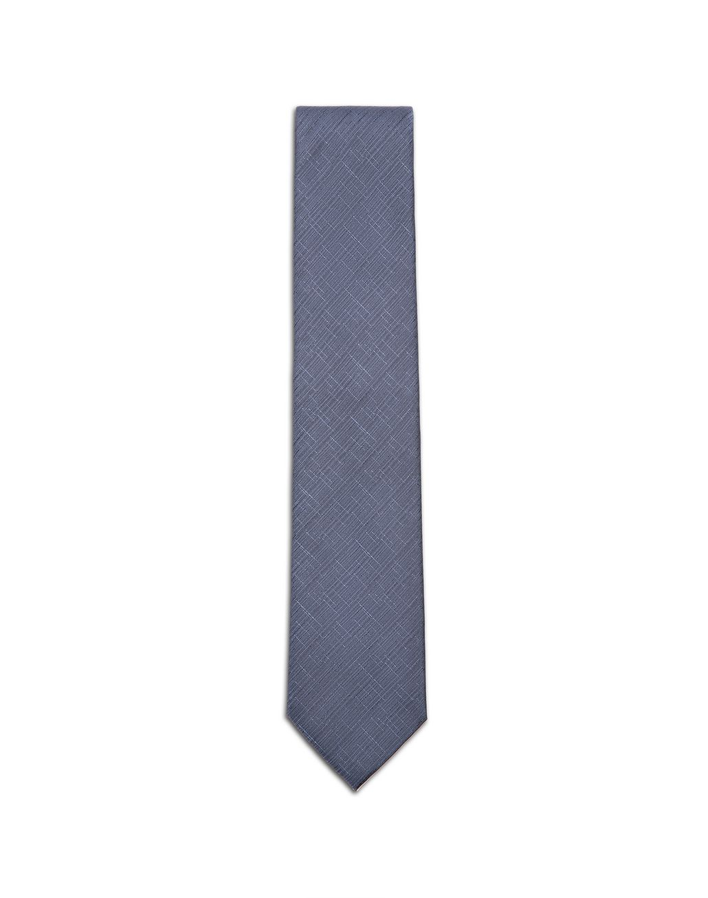 BRIONI Bluette Shantung Tie Tie & Pocket Square Man f