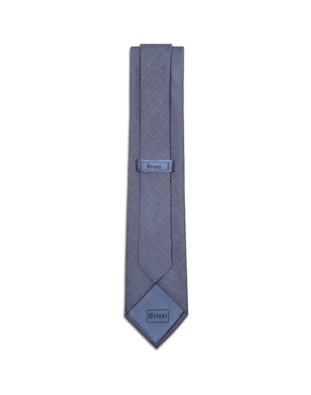 BRIONI Bluette Shantung Tie Tie & Pocket Square Man r