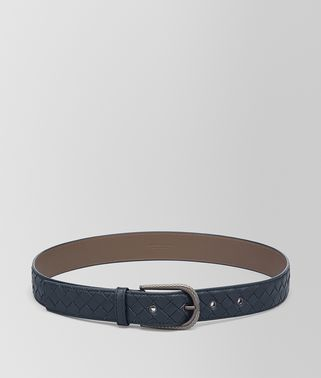 BELT IN DENIM INTRECCIATO NAPPA LEATHER