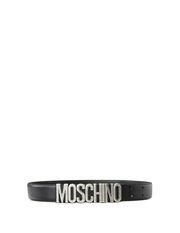 Leather Belt Man MOSCHINO