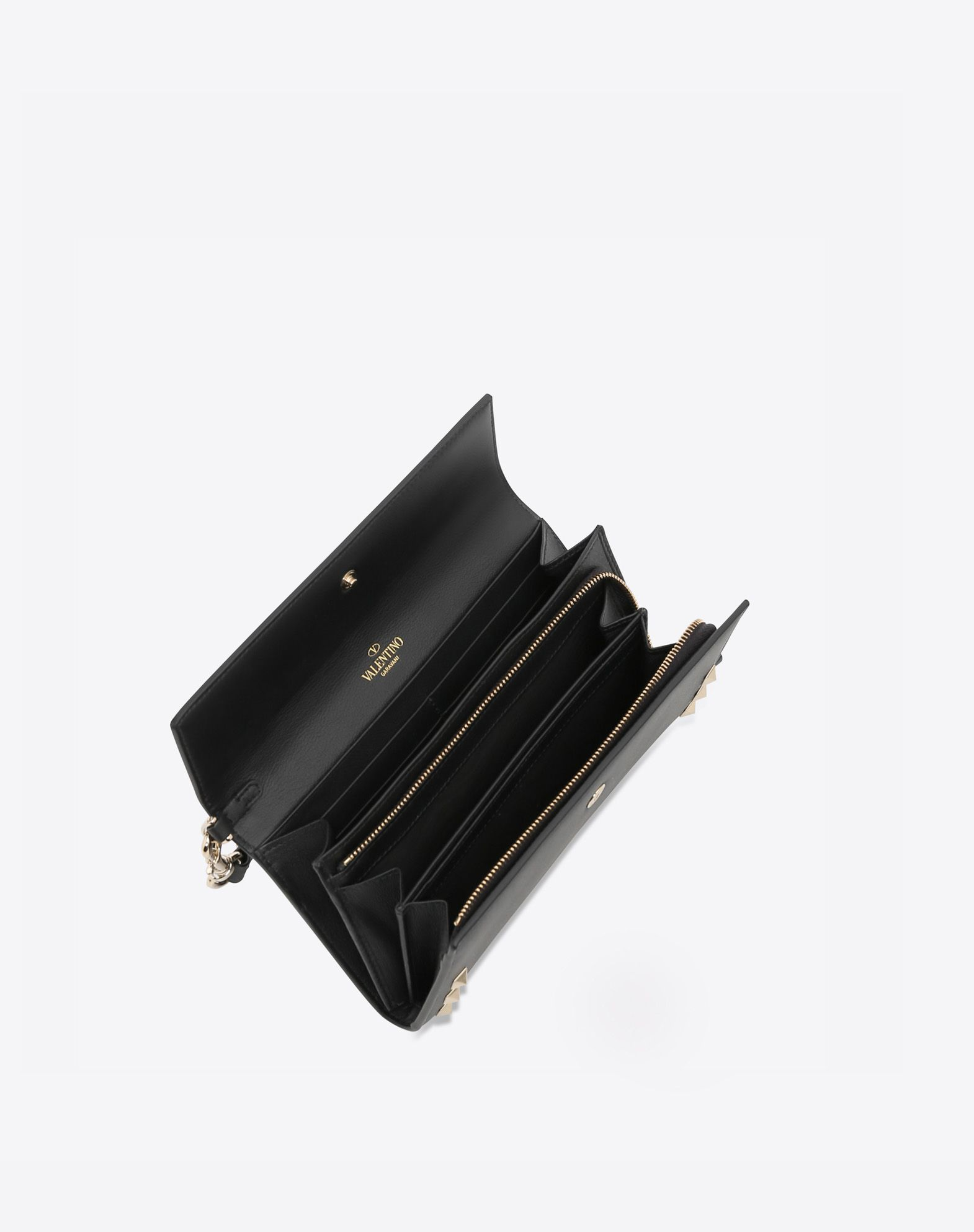 VALENTINO GARAVANI Rockstud Wallet FLAP WALLETS D a
