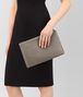 BOTTEGA VENETA LARGE DOCUMENT CASE IN STEEL INTRECCIATO NAPPA LEATHER Other Leather Accessory E ap