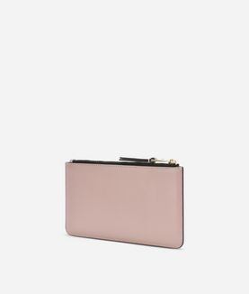 KARL LAGERFELD K/METAL SIGNATURE SMALL POUCH