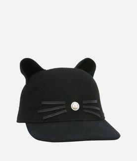 KARL LAGERFELD K/CAT CAP PEARL