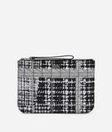 KARL LAGERFELD K/Kuilted Tweed Pouch 8_f