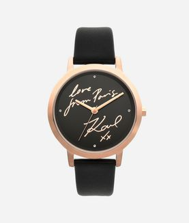 KARL LAGERFELD LOVE FROM PARIS WATCH