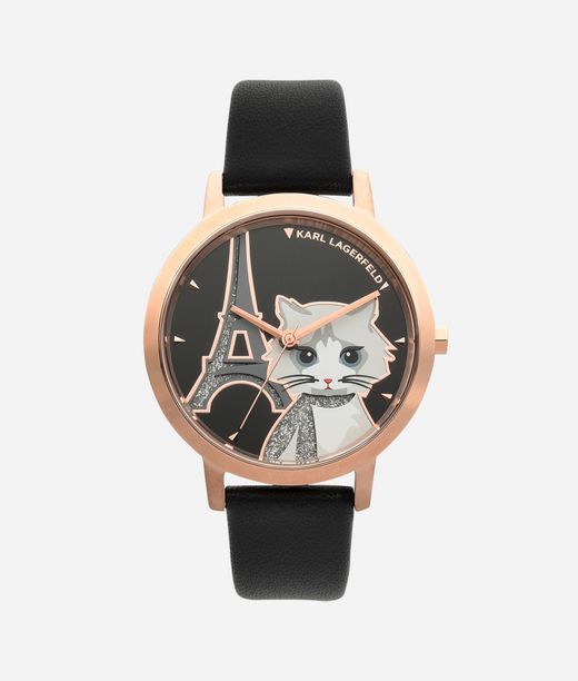 KARL LAGERFELD Choupette In Paris Watch 12_f