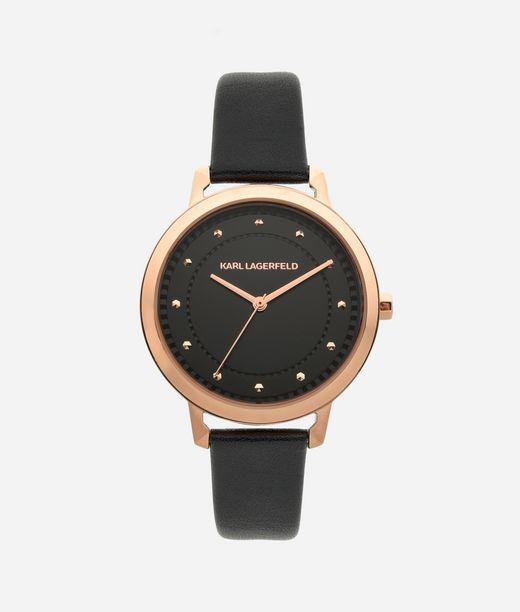 KARL LAGERFELD Armbanduhr Vanessa in Roségold und Schwarz 12_f