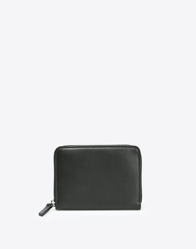 MAISON MARGIELA 11 Wallets D Calfskin wallet with zip closure f