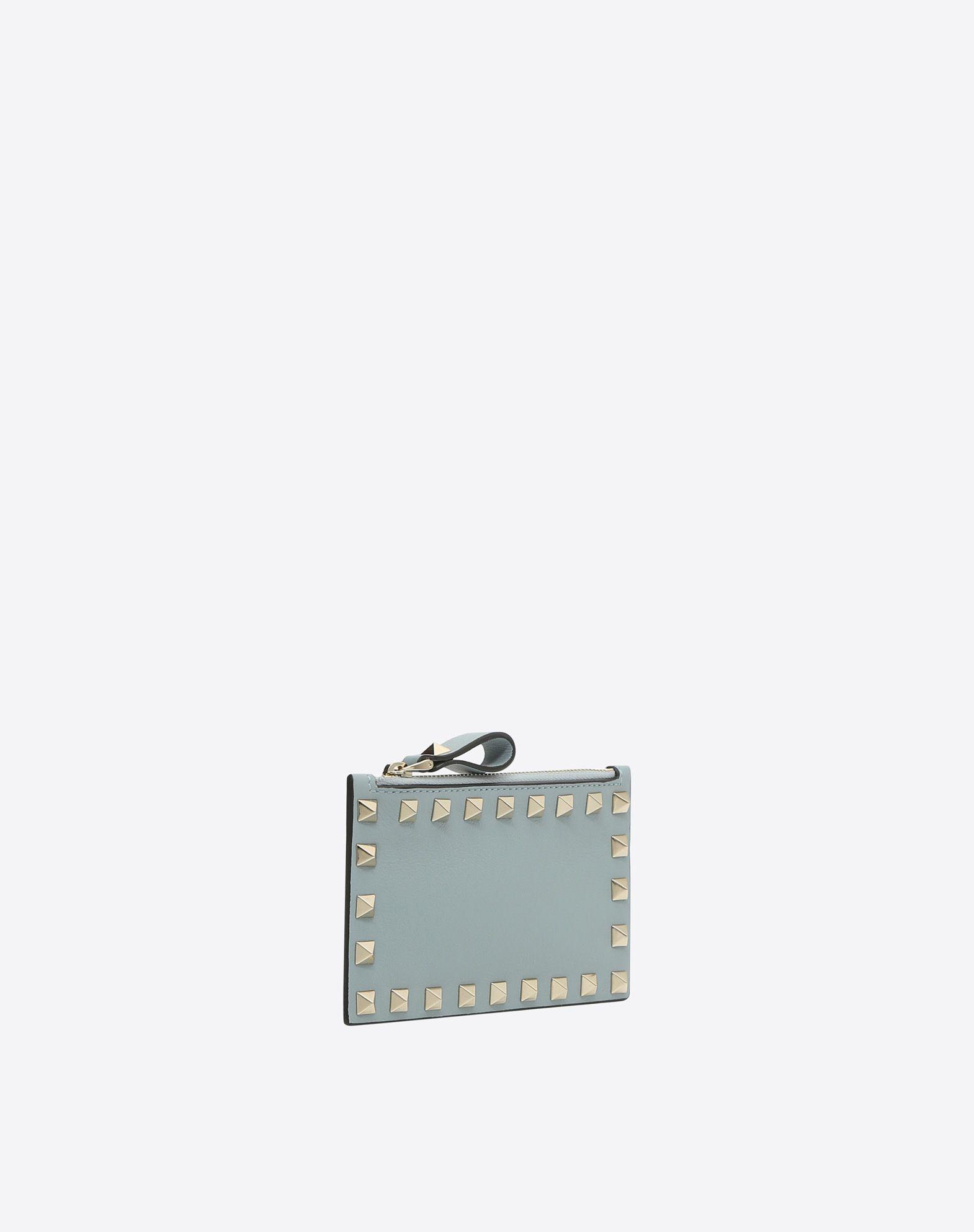 Valentino Porte-monnaie et porte-cartes en cuir Rockstud 5oXIQP