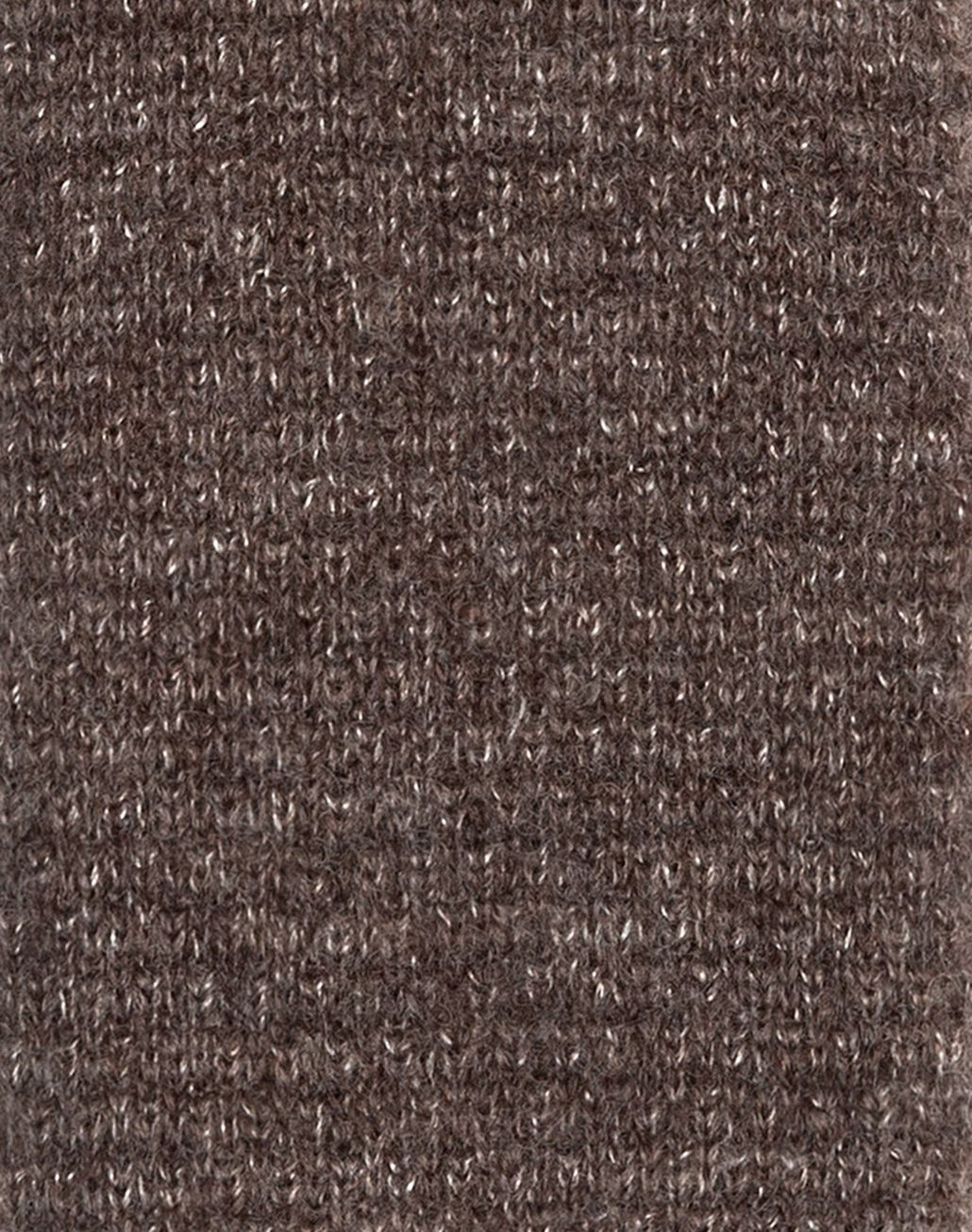 BRIONI Taupe Knitted Tie Tie & Pocket Square U d