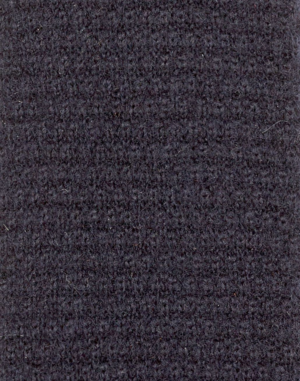 BRIONI Navy Blue Knitted Tie Tie & Pocket Square Man d