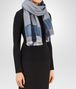 BOTTEGA VENETA SCARF IN PERWINKLE BLUE CASHMERE WOOL SILK Scarf or other D rp