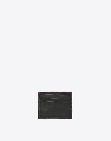 MAISON MARGIELA Wallets U Credit card holder with contrasting stitching f