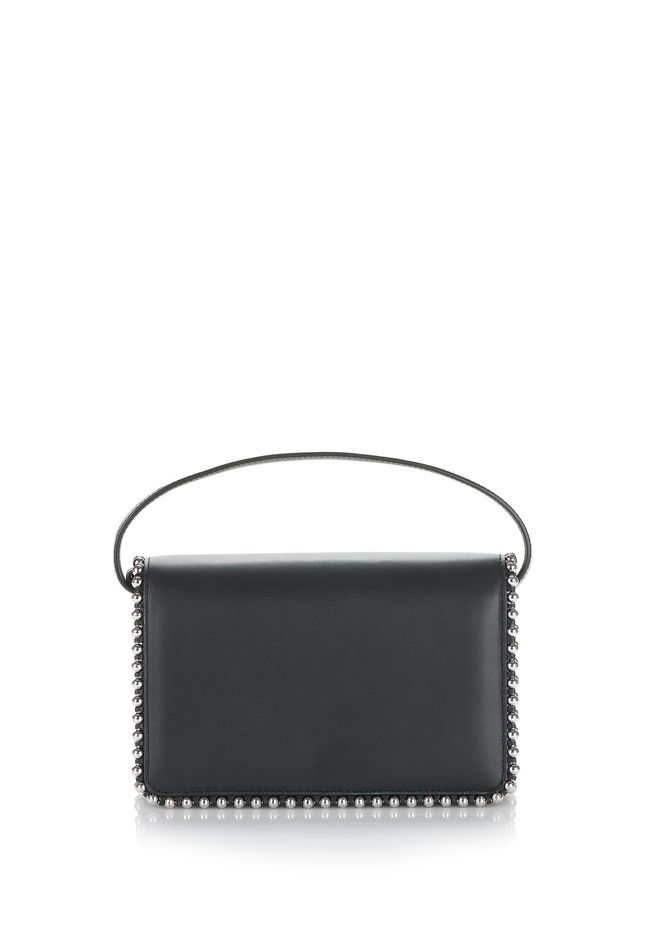 ALEXANDER WANG accessories BALL STUD ATTICA BIKER PURSE