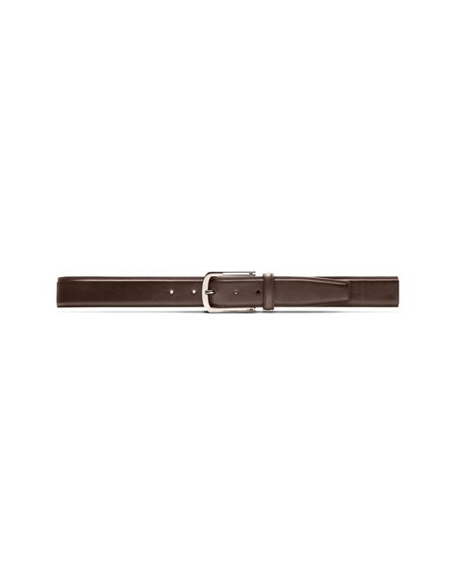 Brown Belt in Calfskin Leather