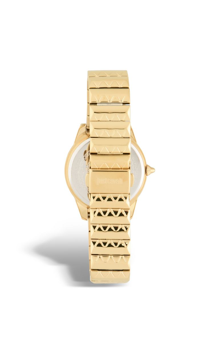 JUST CAVALLI ROCK watch in gold-plated steel Watch Woman e