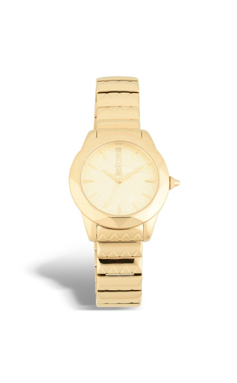 JUST CAVALLI ROCK watch in gold-plated steel Watch Woman f