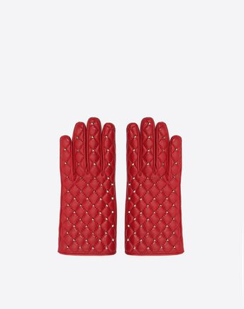 VALENTINO GARAVANI Gloves D Rockstud Spike Gloves f