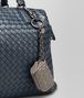 BOTTEGA VENETA KEY RING IN STEEL INTRECCIATO NAPPA Keyring or Bracelets E ap
