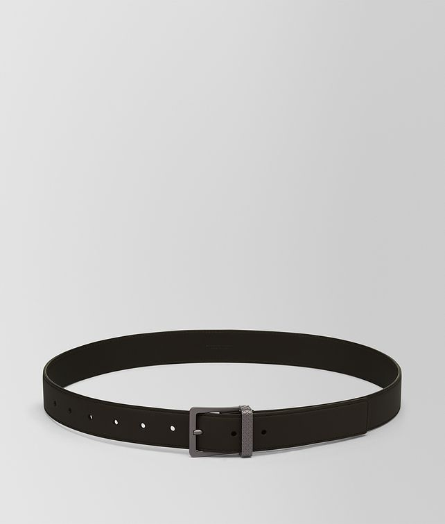 BOTTEGA VENETA BELT IN ESPRESSO CALF Belt Man fp