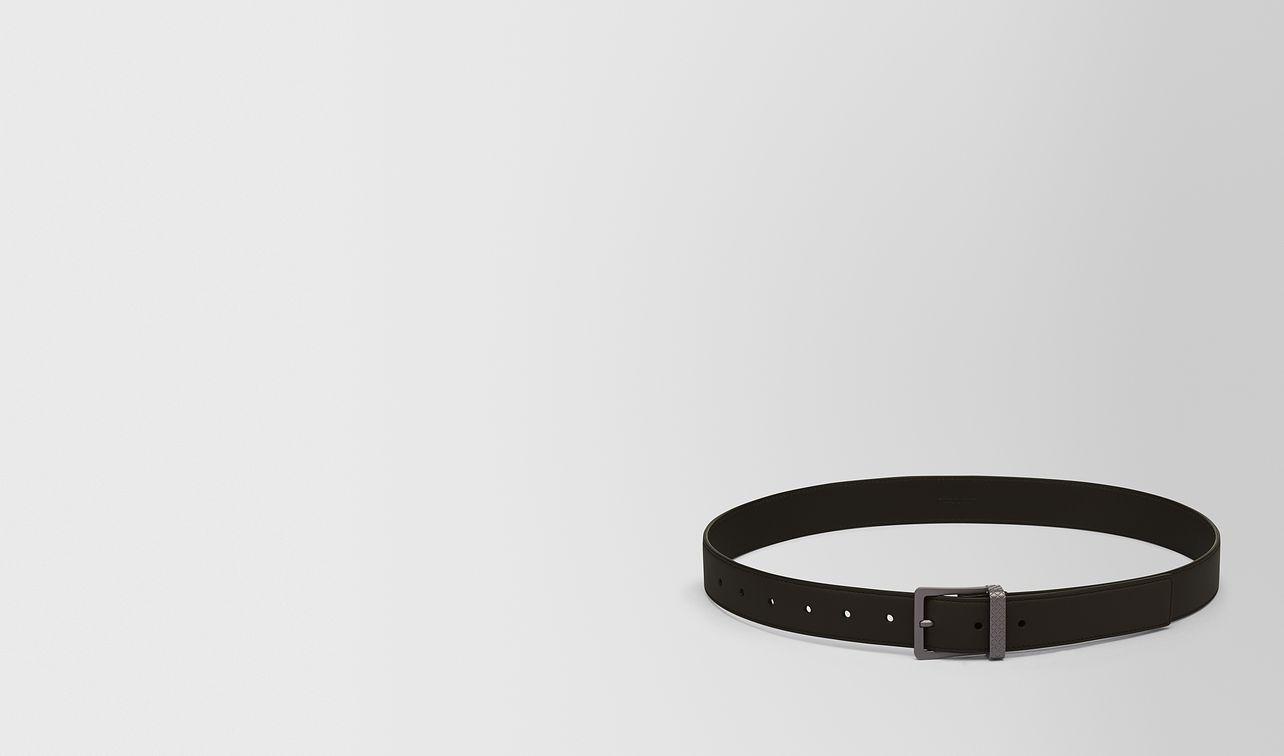 belt in espresso calf landing