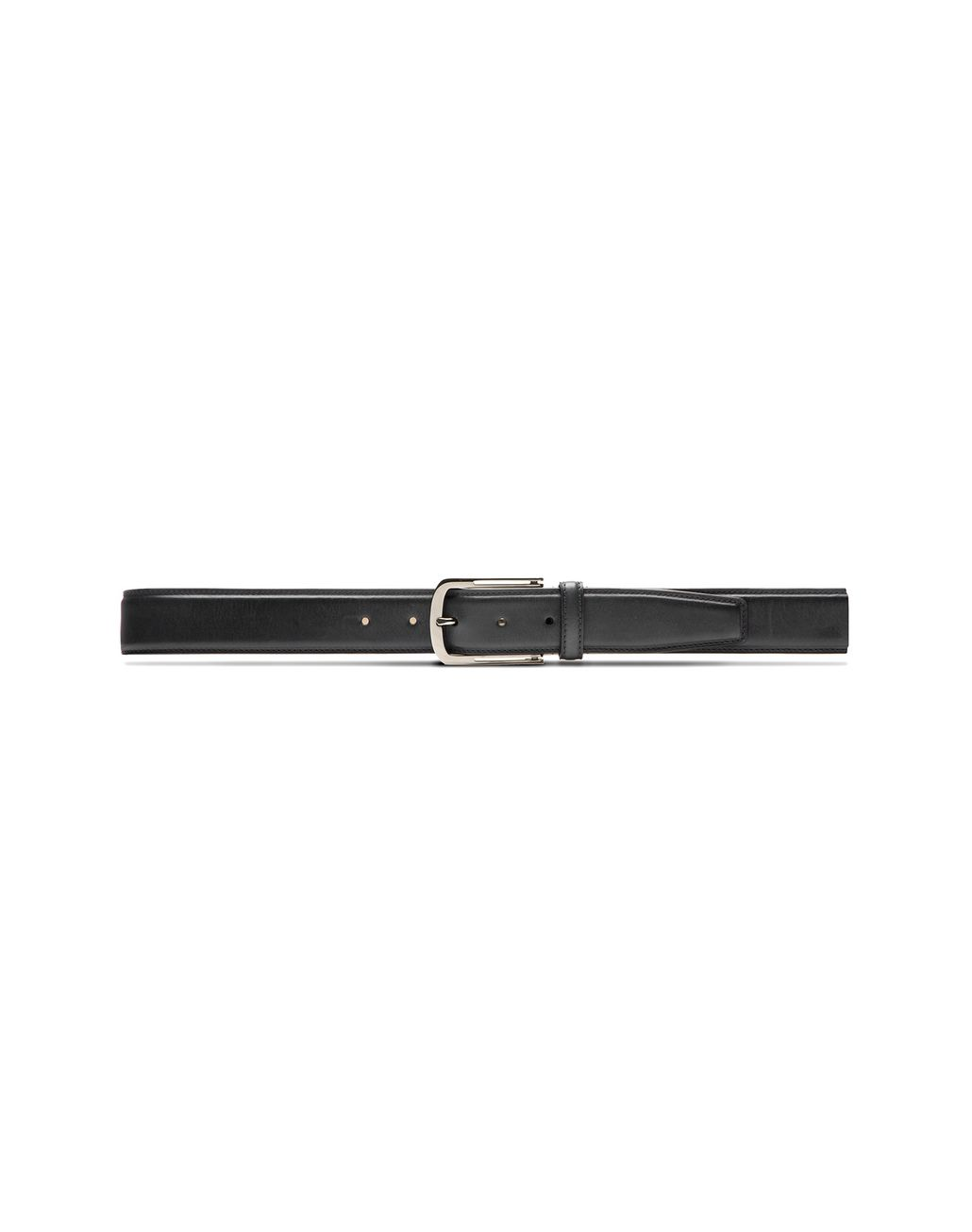BRIONI Black Belt in Calfskin Leather Belt Man f