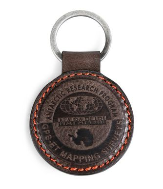 NAPAPIJRI HOKO  KEYRING,DARK BROWN