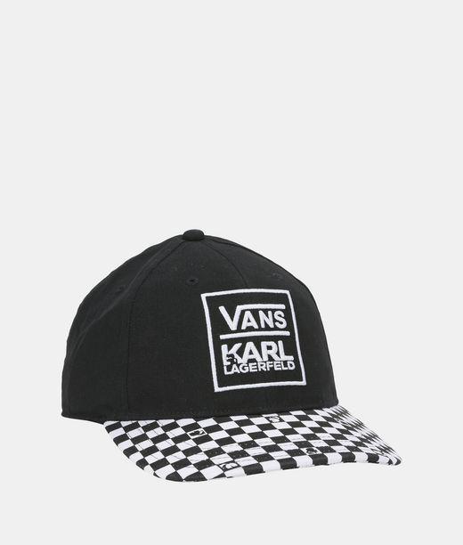 KARL LAGERFELD Vans x KARL LAGERFELD Dugout Baseball Hat 12_f