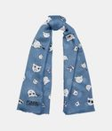Choupette Faces Scarf