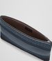 BOTTEGA VENETA MEDIUM DOCUMENT CASE IN DENIM TOURMALINE EMBROIDERED NAPPA, INTRECCIATO DETAIL Other Leather Accessory E ap