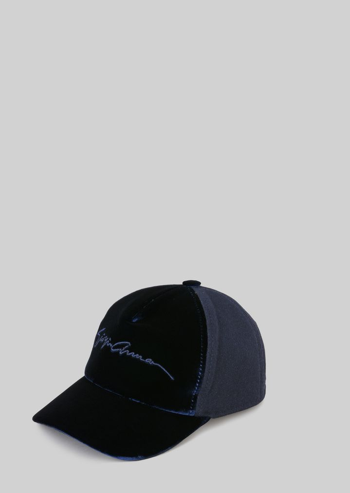 WOOL AND COTTON BASEBALL CAP  80dd92e5ac56