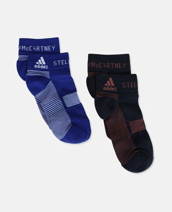 Blue Running Socks