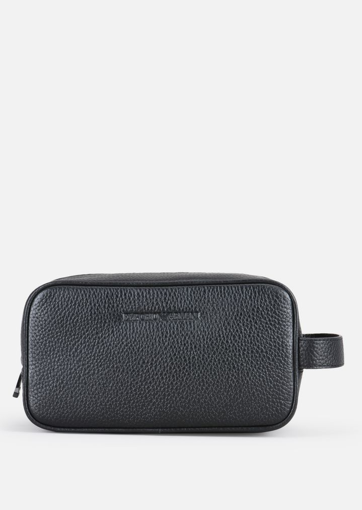 4035595c753a GRAINY LEATHER WASH BAG