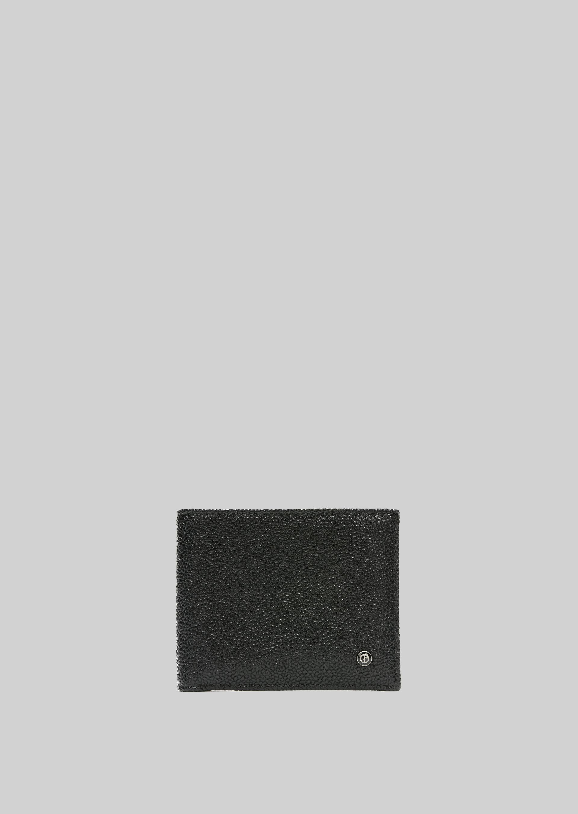 GIORGIO ARMANI LEATHER WALLET Wallet U f