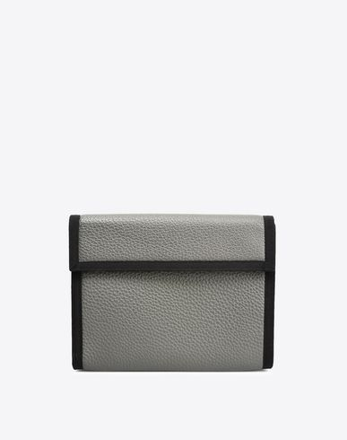 MAISON MARGIELA Clutch U Nylon and leather pouch f