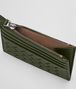 BOTTEGA VENETA CARD CASE IN MOSS INTRECCIATO NAPPA Card Case or Coin Purse E dp