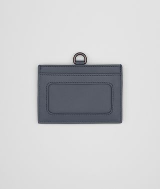 CARD CASE IN KRIM INTRECCIATO NAPPA LEATHER