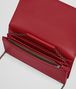 BOTTEGA VENETA CONTINENTAL WALLET IN CHINA RED INTRECCIATO NAPPA CHAIN WALLET Woman dp