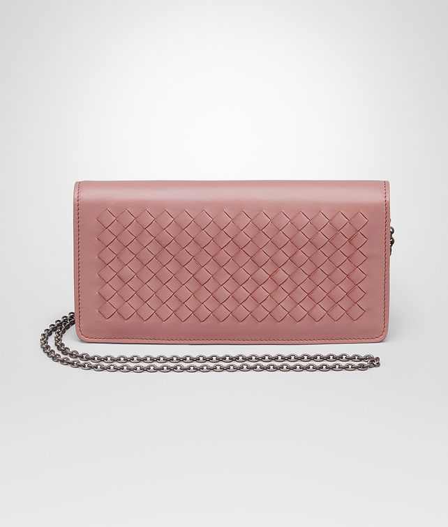 9b15f1f4b8c5d BOTTEGA VENETA CONTINENTAL WALLET IN BOUDOIR INTRECCIATO NAPPA LEATHER  Continental Wallet Woman fp