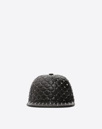VALENTINO GARAVANI Hat D Rockstud Spike Baseball Hat f