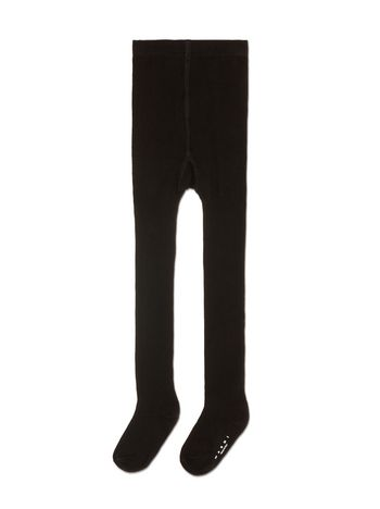Marni STOCKINGS IN BLACK RIBBED COTTON Woman