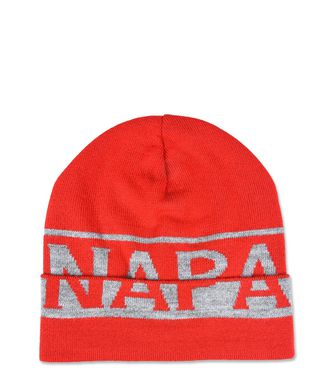 NAPAPIJRI K FIR JUNIOR KINDER BEANIE,ROT