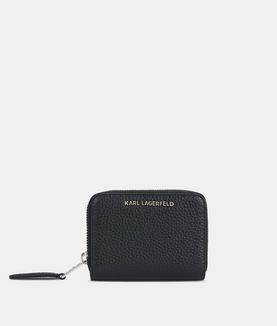 KARL LAGERFELD K/KOOL SMALL ZIP WALLET