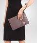 BOTTEGA VENETA MEDIUM DOCUMENT CASE IN GLICINE EMBROIDERED INTRECCIATO NAPPA LEATHER Other Leather Accessory Woman ap